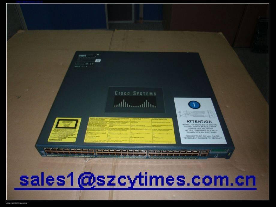 Used Cisco WS-C4948-10GE switch