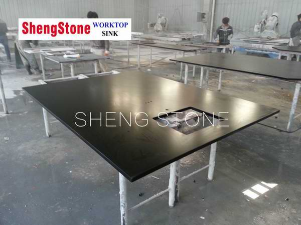Professional production and processing laboratory epoxy resin worktop