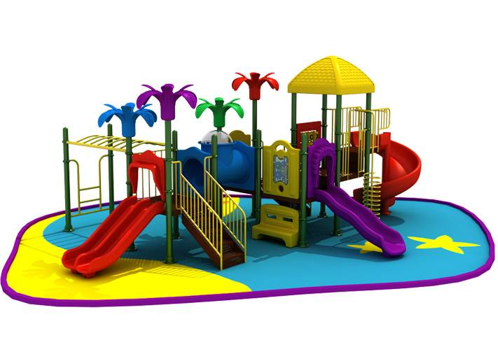 Good quality and cheap commercial playground play structure for preschool kids