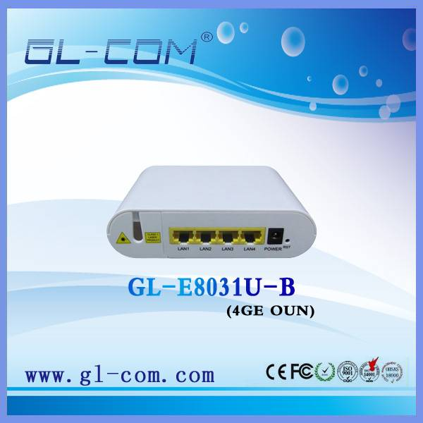 Fiber Optic 4GE ONU
