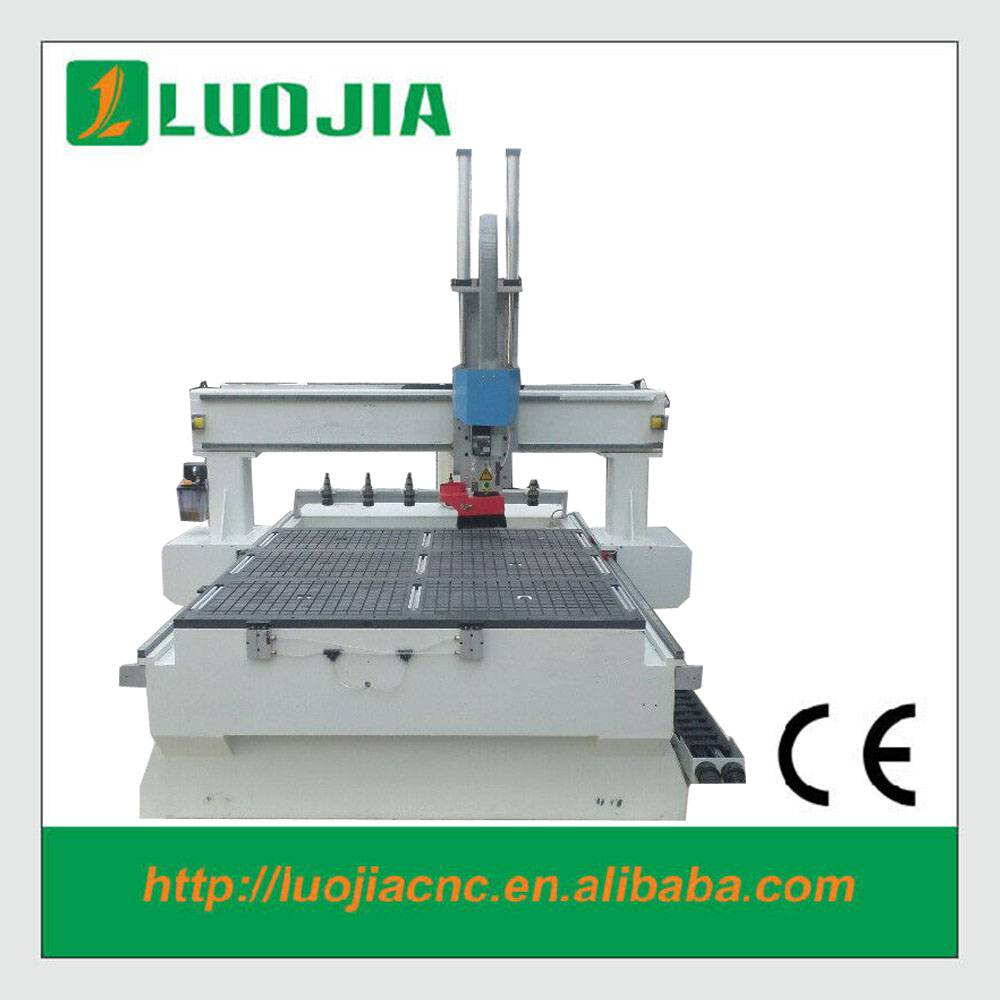 ATC wood cnc router 1325 for furniture advertising