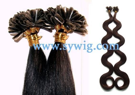 nail hair extension/prebonded hair