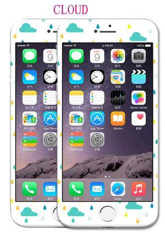 phone tempered glass film cloud