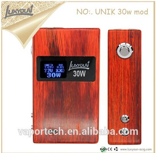 Luxyoun 2014 New Vape Products Variable Wattage 30W Box Mod