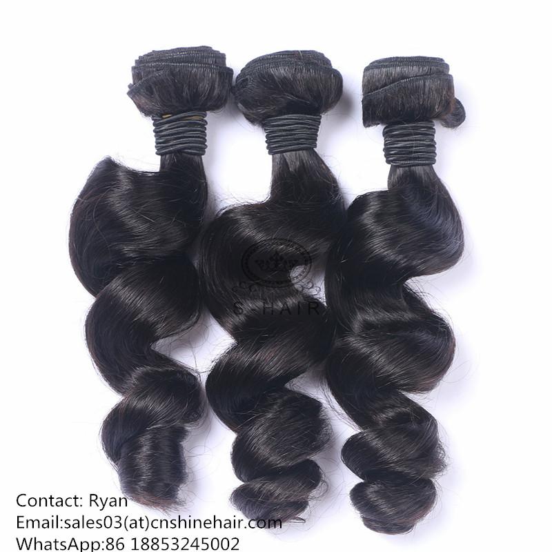 Human Hair Bundles Loose Wave