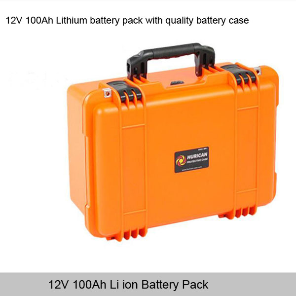 12v 100ah lithium ion battery pack for solar energy storage with deep cycle life