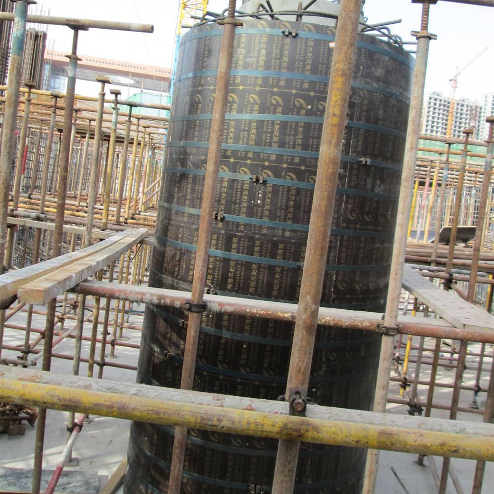 Scformwork brand Light weight wooden round circular column formwork system