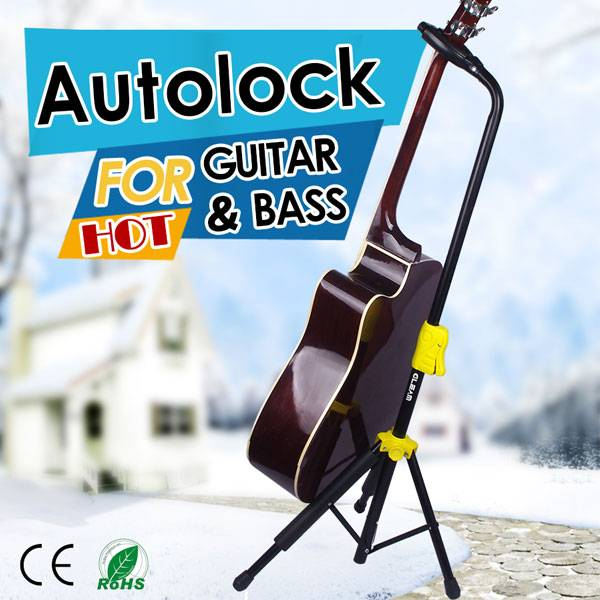 Gleam Folding Guitar Stand With OEM Service Available