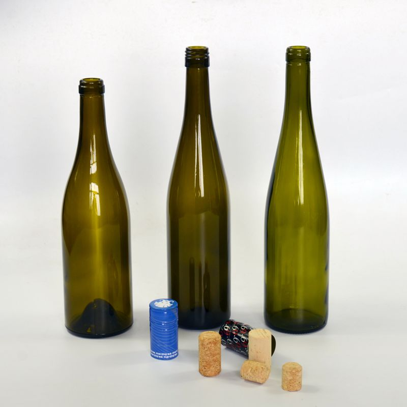 750ml screw top glass wine bottle made in China