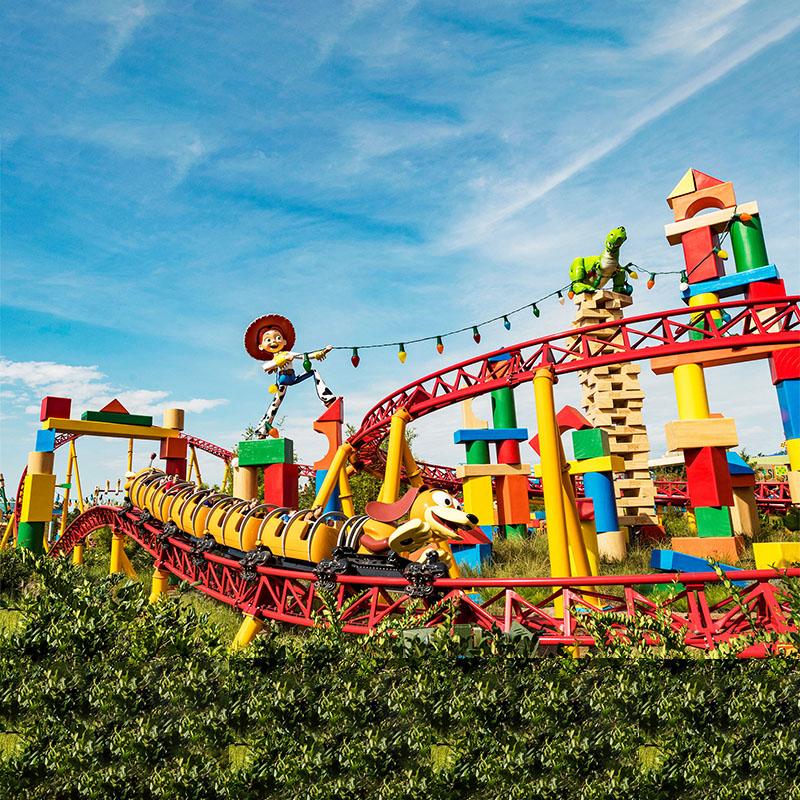 Family Roller Coaster Ride HFGS08--Hotfun Amusement rides