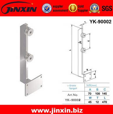 New Design Side Mounted Glass Spigot(YK-90002)