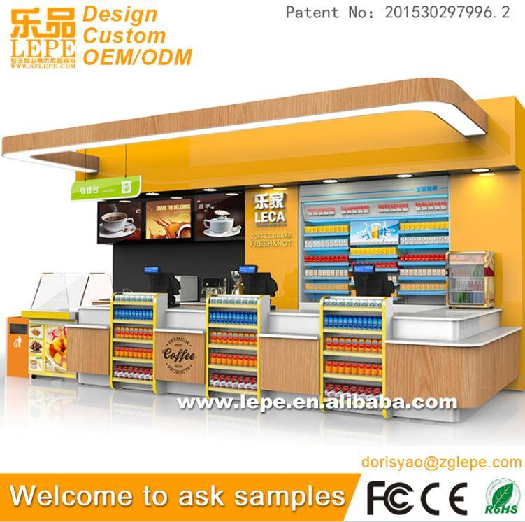 lepe checkout counter cashier counter for sale