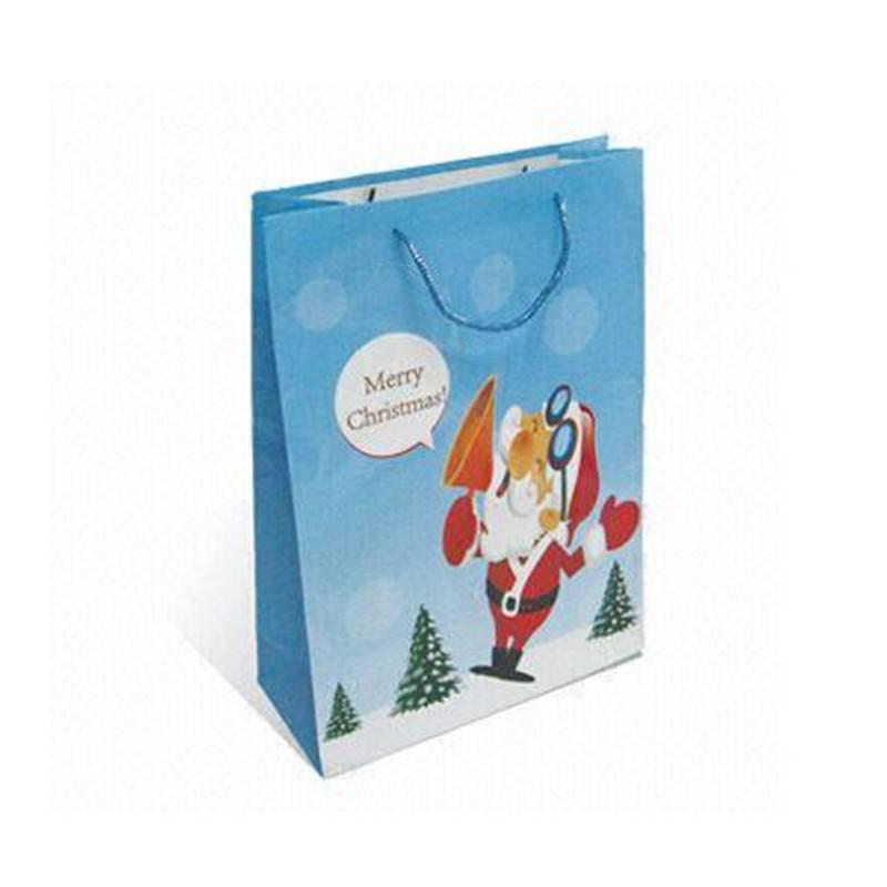 Christmas gift packing paper bag festival gift paper bag