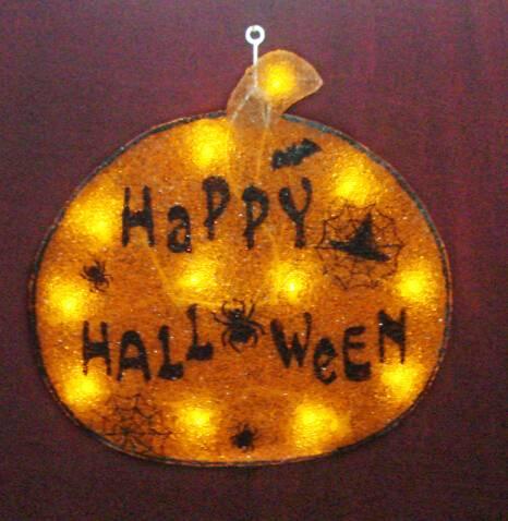 EVA&LED Halloween decorative lights,Pumpkin