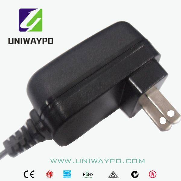5W universal power supply with US EU JP plug