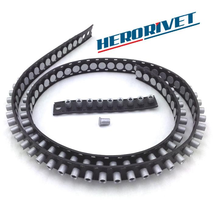 Carbon Steel Silver Semi-Tubular Rivets 5.3×8mm 5000 PIeces per Roll