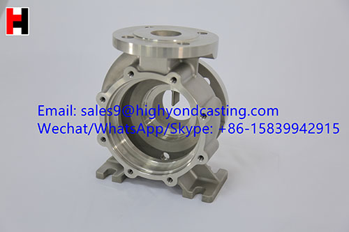 Hot sale investment casting steel casting pump body