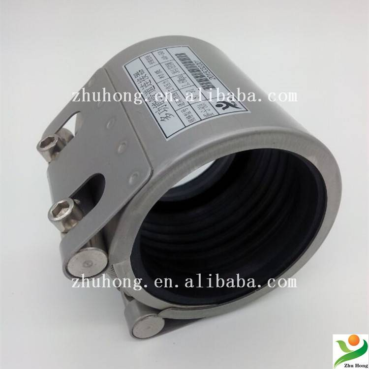 stainless steel pipe connection clamp