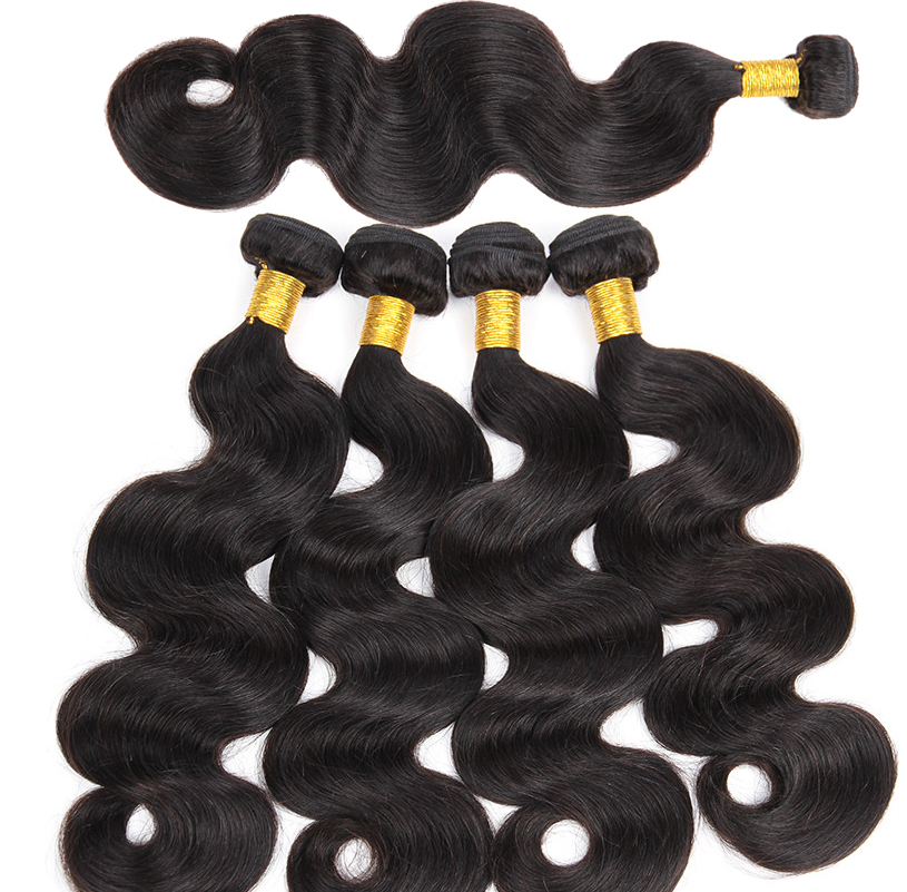 Wholesale Mink Brazilian Hair, 100% Human Hair Weft, Top Grade Market Cheap Body Wave Virgin Brazili