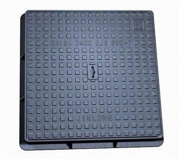 EN124 B125 Ductile Iron square Manhole cover