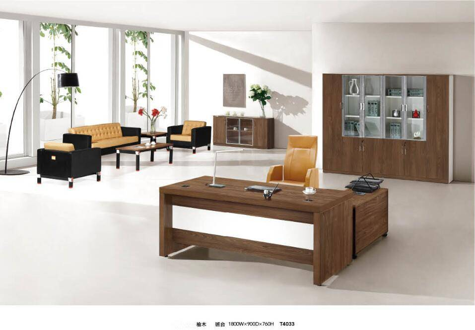 outlet price European style furniture executive wooden office desk