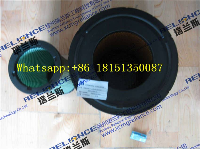 XCMG spare parts-LW500F-engine air filter-A-5549+A-5550(860117355-2)