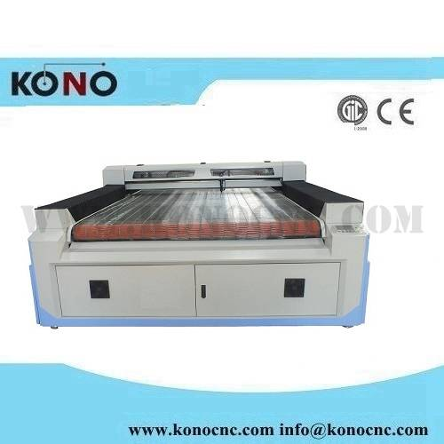 Big size laser cutting machine for textile with auto feeding or CCD