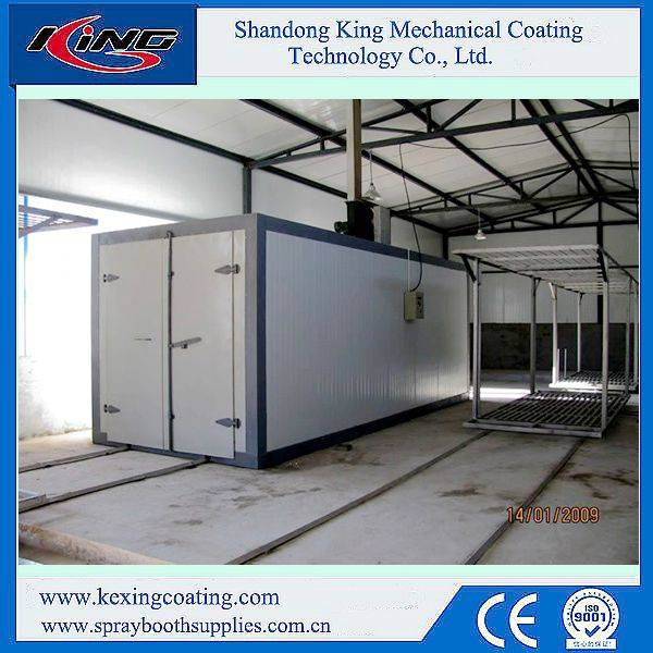 Rock Wool Panel High Performance Electric Chamber for Powder Curing