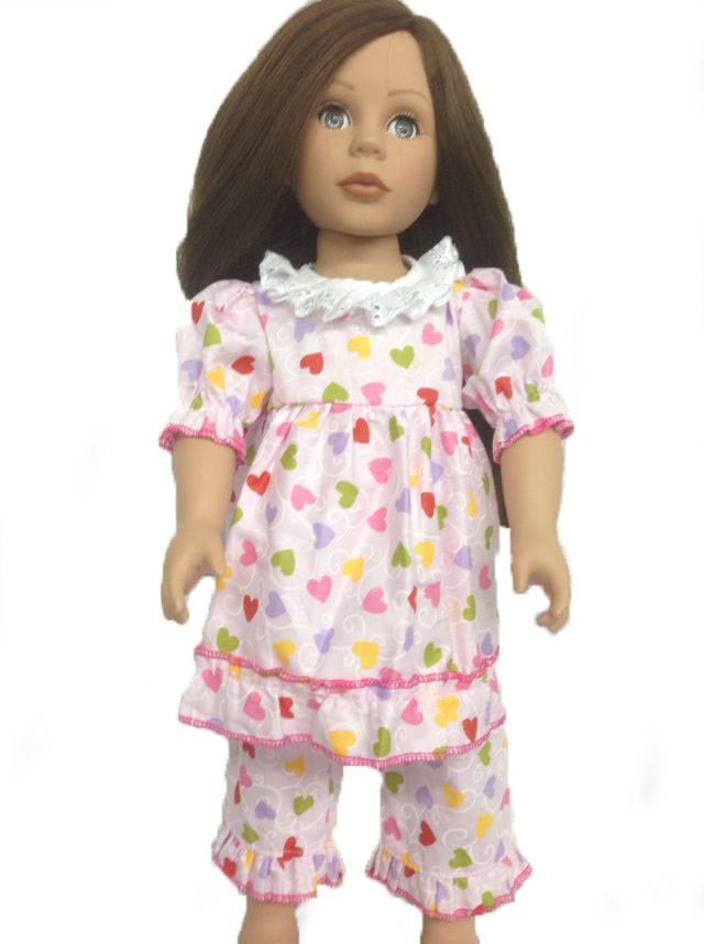 Pajamas fits 18 inch doll