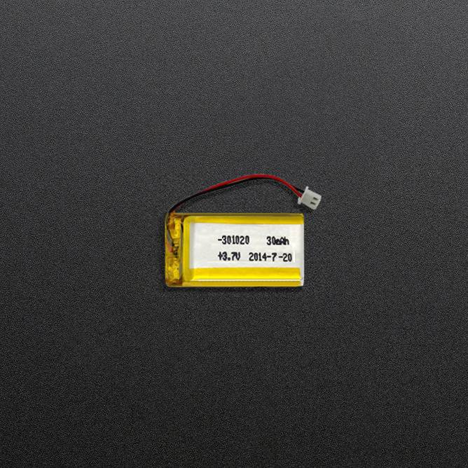 30mah 3.7v small Lipo Battery for wearable devices