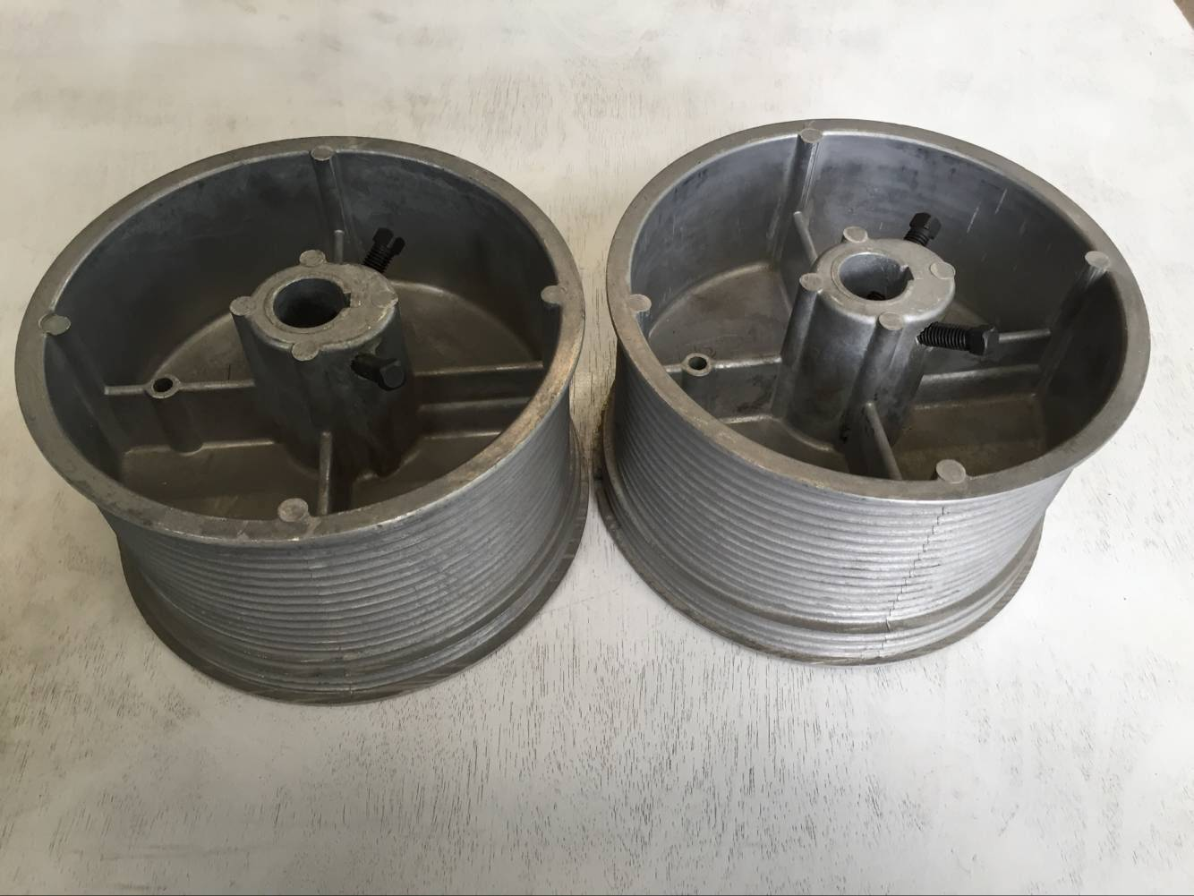 32 inches cable drum