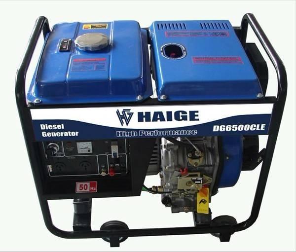 portable open type diesel generator DG3500CL/CX(E)