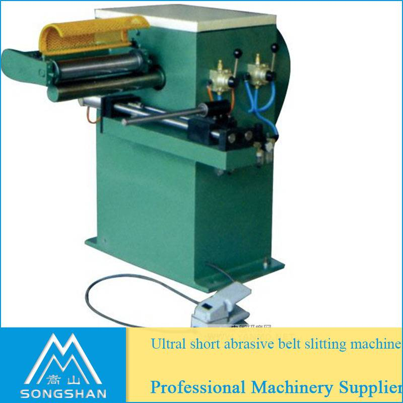 small abrasive belt slitting machine