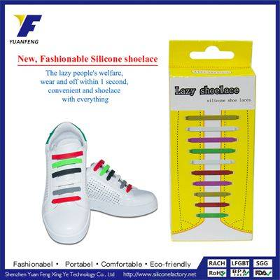 New Generation Easy Wear No Tie Lazy Man Magnetic Shoelaces