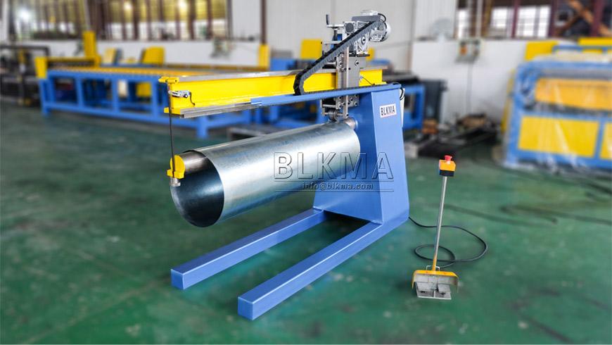Round Duct Lock Seam Machine
