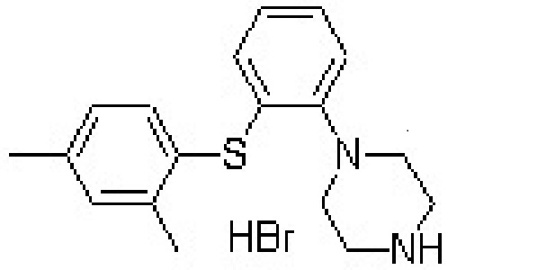 Vortioxetine HCl intermediates
