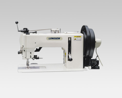 Heavy duty compound feed sewing machine GA204-370