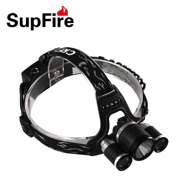 XM-L T6 LED Headlight Rechargeable 1500 lumens led headlamp SupFire HL33