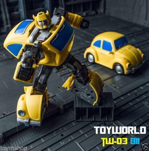 Toyworld Transformers TW-03 TW03 BII Bumblebee Figure NEW Box Set