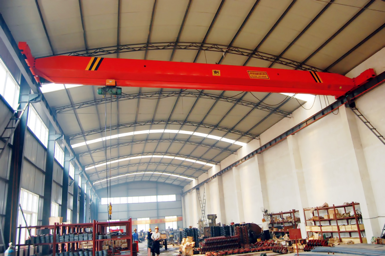 High Quality 10Ton LDA Single Girder OverheadBridge Crane
