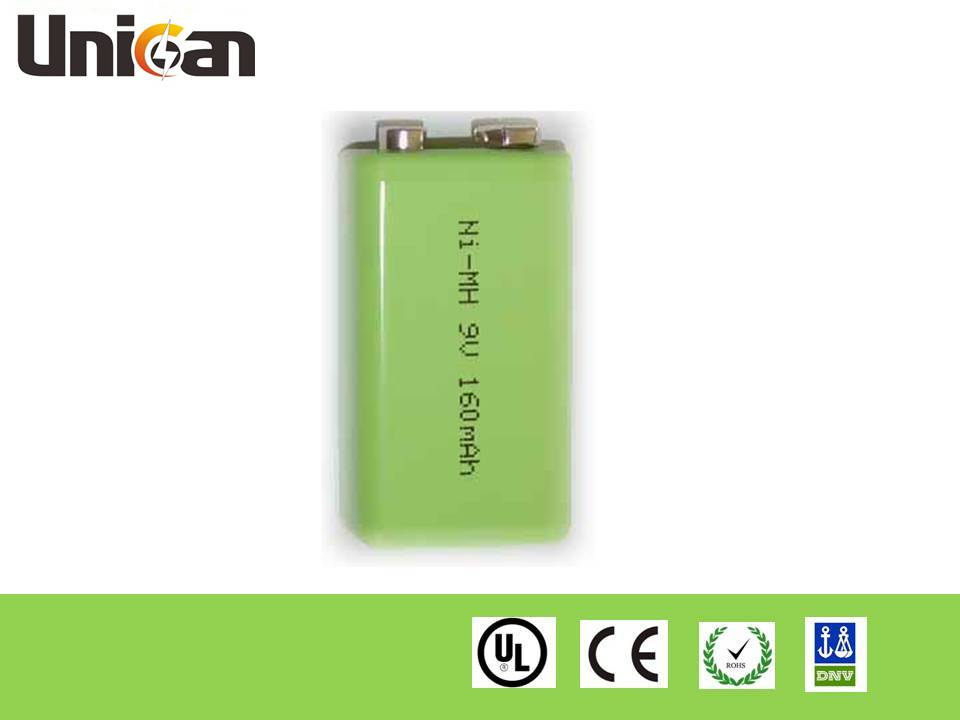 Industry Ni-MH Rechargeable Battery 9V