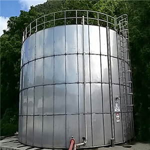 NON-WELDED BOLT ASSEMBLY STAINLESS STEEL WATER TANK