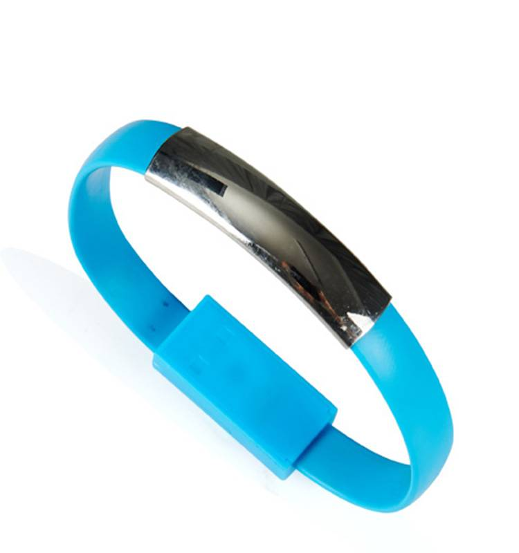 bracelet charging data cable with highly efficient transfer function