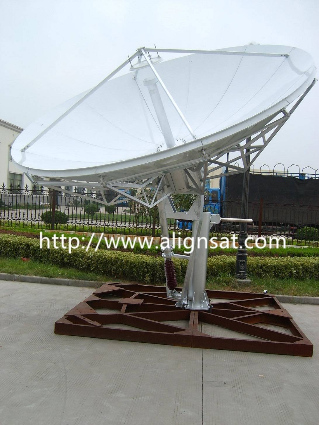 Alignsat 3.7M Earth Station Antenna