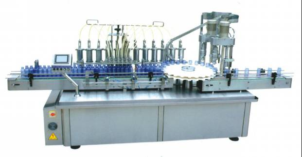 YXT-YG12/2 automatic capping machine and filling machine