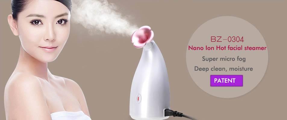Binzim-0304 Nano facial steamer Patent