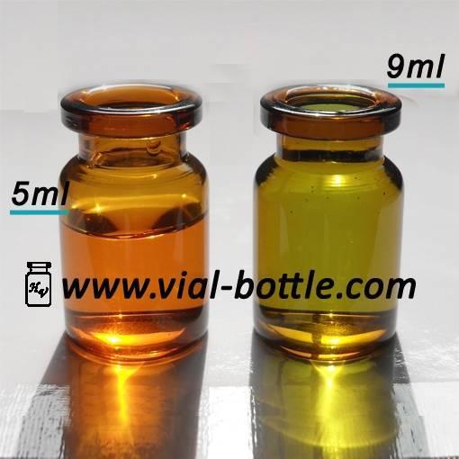 5ml pharmaceutical amber glass bottle
