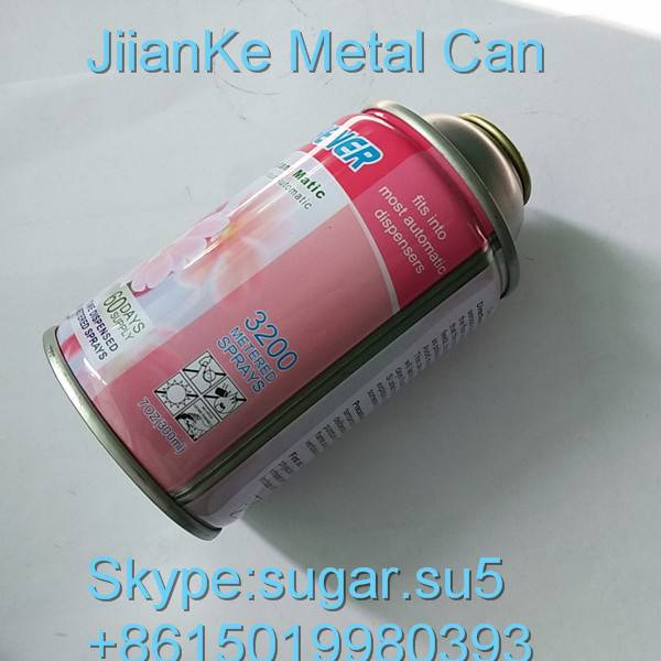 Aerosol cans for shaving foam China manufacturer