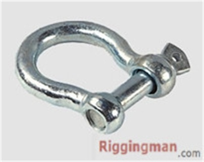 Rigging Hardware EUROPEAN TYPE LARGE BOW SHACKLE