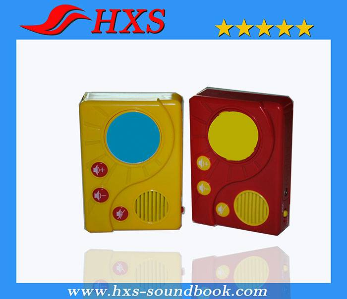 Children Story Book Electronic Sound Box for Books